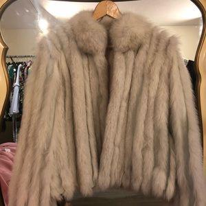 Norwegian Blue Fox Fur Coat